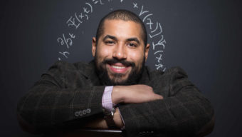 John Urschel of the Baltimore Ravens is also a published mathematician.  Photographed at his home on 12/1/14 in Baltimore, MD.CREDIT:  Simon Bruty/The Players' Tribune (run no photog credit)