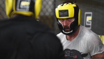 MILWAUKEE, WI - AUGUST 29:  CM Punk trains at Roufusport Martial Arts Academy on August 29, 2016 in Milwaukee, Wisconsin.  (Photo by Stacy Revere/ Zuffa LLC/Zuffa LLC via Getty Images)