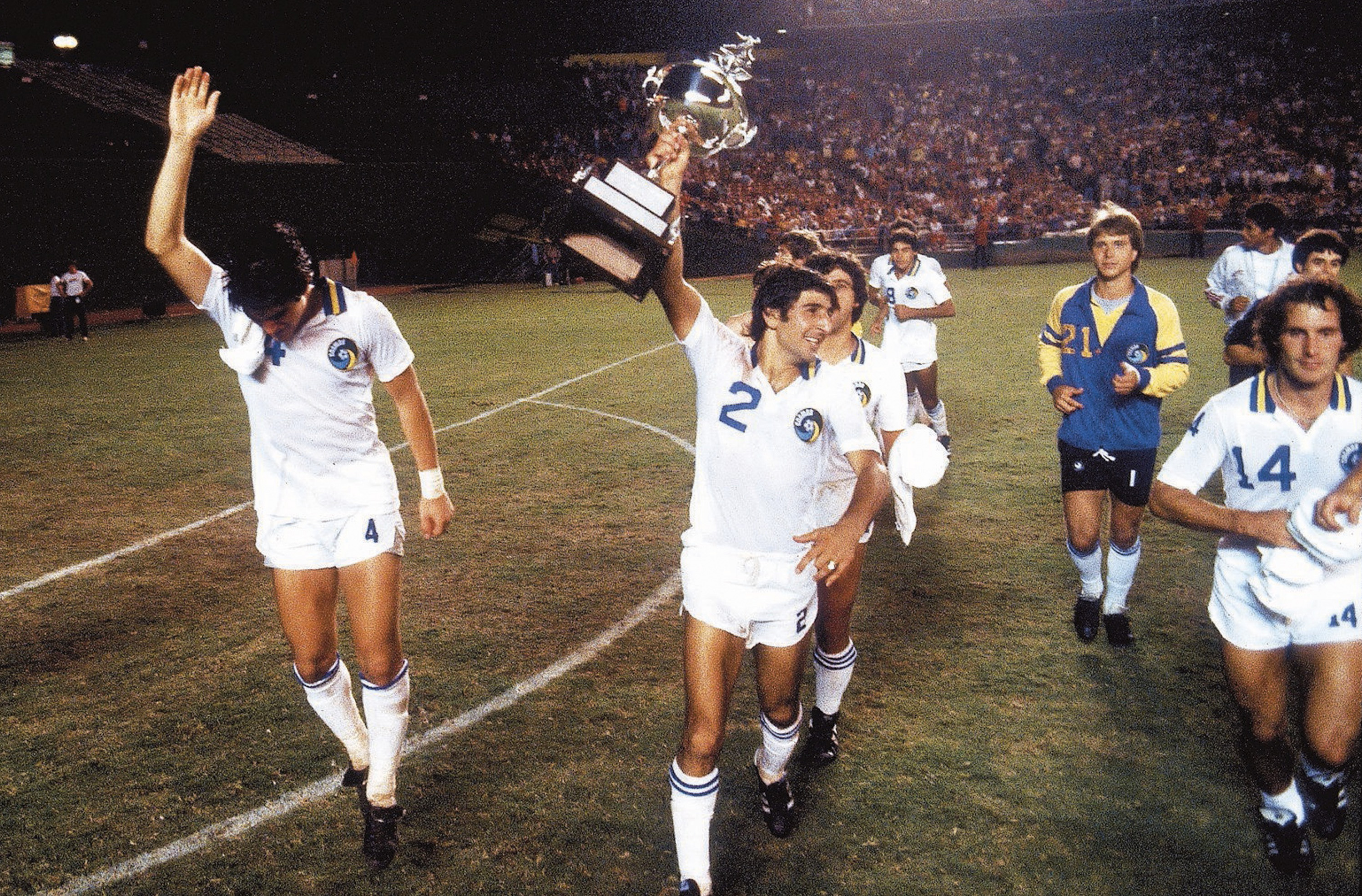 New York Cosmos Andranik Eskandarian, Soccer Bowl '82