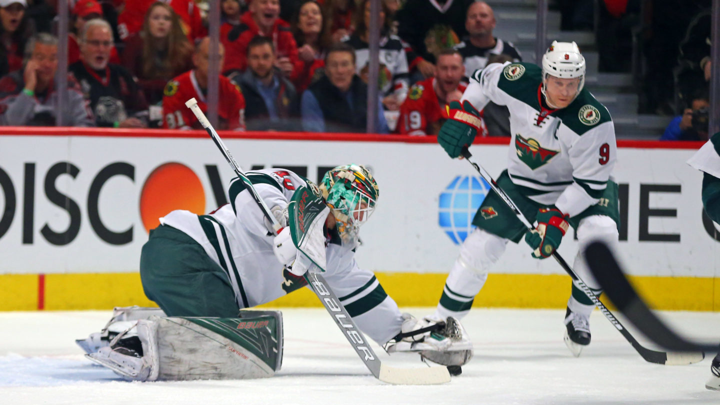 NHL: Minnesota Wild at Chicago Blackhawks
